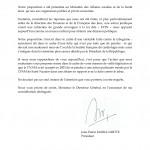 12/3/2013 - 1ère relance de SOS Tabac à la CNAMTS 2