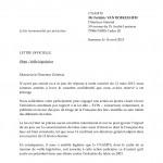 16/4/2013 - 2ème relance de SOS Tabac à la CNAMTS 1