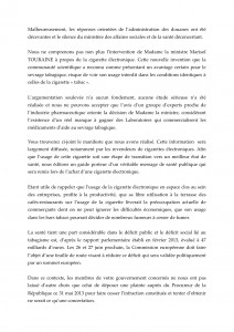 PRESIDENT DE LA REPUBLIQUE F HOLLANDE DISTRIBUTION TABAC 2 : E-CIG 21 JUIN 13